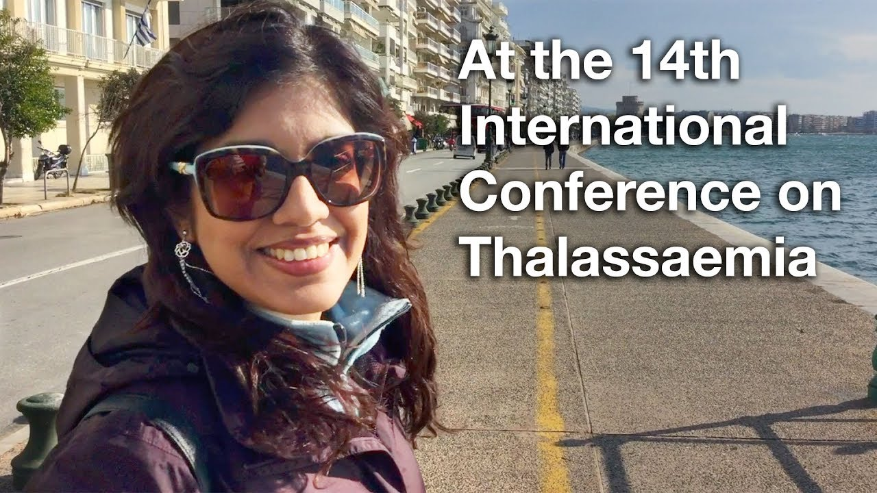 At the 14th International Conference on Thalassaemia